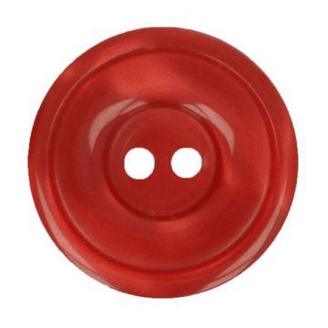Blouse Knoop 12,5mm - Donker Rood