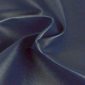 kunstleer navy blauw