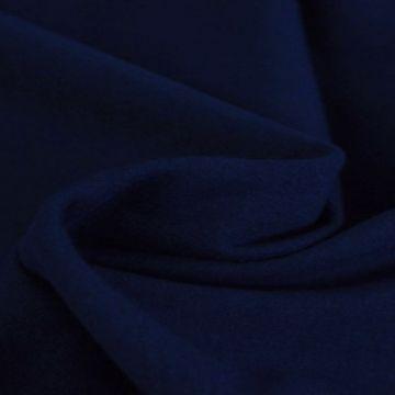 katoenen tricot jersey donker blauw