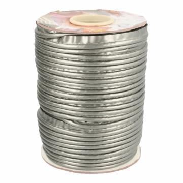 Paspelband Lakleer - 002 Oud Zilver