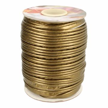 Paspelband Lakleer -1 Brons