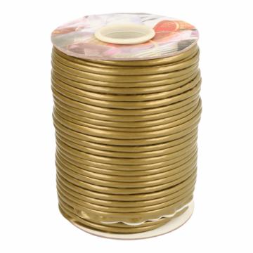 Paspelband Lakleer - 837 Goud