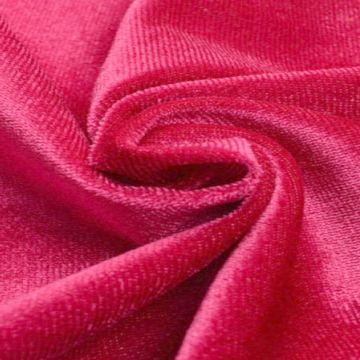 lycra fluweel / velours roze