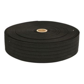 Taille Elastiek zwart - 30mm