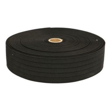 Taille Elastiek Zwart - 15mm