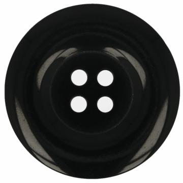 Knoop Zwart - 22,5 mm