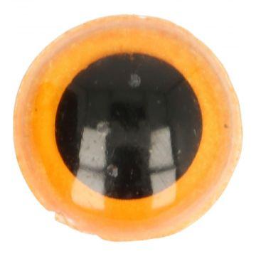 Veiligheidsogen Oranje - 22mm