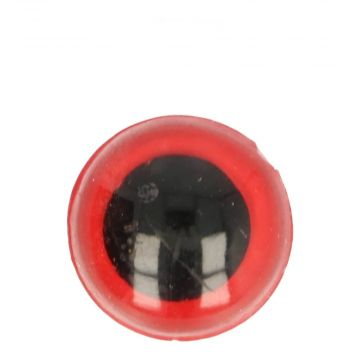 Veiligheidsogen Rood - 12mm