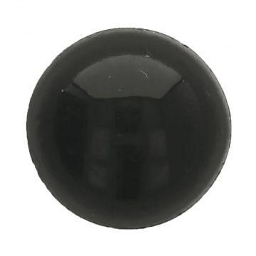 Veiligheidsogen Zwart - 12 mm