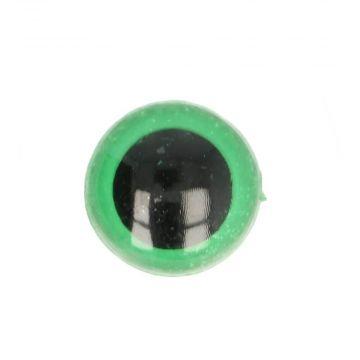 Veiligheidsogen Groen - 22mm