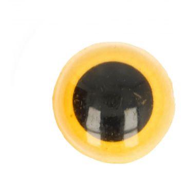 Veiligheidsogen Geel - 12mm