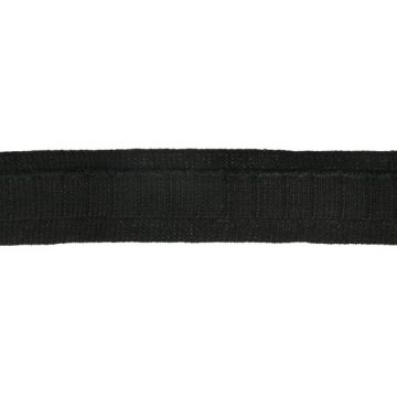 Gordijnplooiband 25mm-000 - Zwart