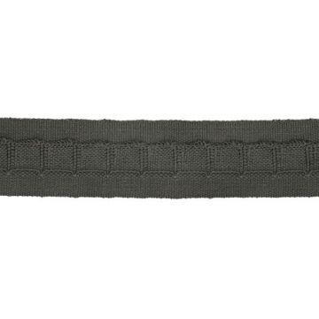 Gordijnplooiband 25mm-002 - Donkergrijs