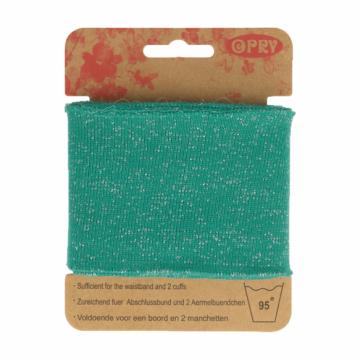 Manchetten Band - Lurex Turquoise