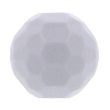Opry Siliconen Kraal Diamant 16mm - Muis Grijs