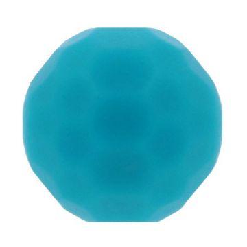 Opry Siliconen Kraal Diamant 16mm - Petrol