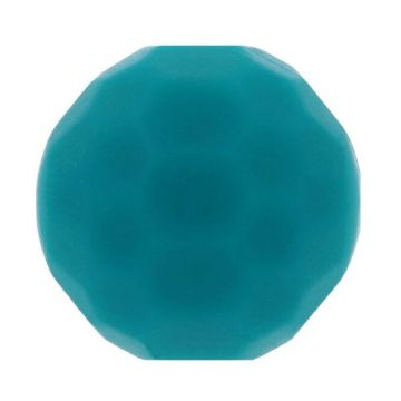 Opry Siliconen Kraal Diamant 16mm - Donker Petrol Groen