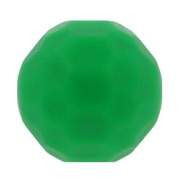Opry Siliconen Kraal Diamant 16mm - Groen