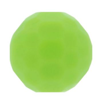 Opry Siliconen Kraal Diamant 16mm - Lime