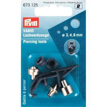 Prym Vario-ponsstempels 3-4-8mm