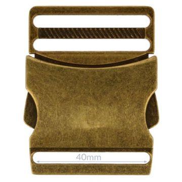 Opry Klikgesp - Old Gold - 40mm