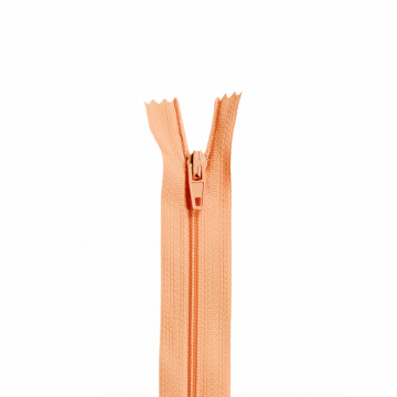 Nylon Rits - Niet Deelbaar - 60cm -6 - Salmon