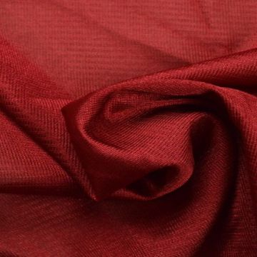 Charmeuse Tricot Voering Donker Rood