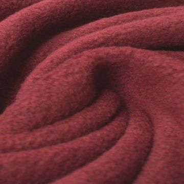 Bordeaux Rode Anti Pilling Fleece