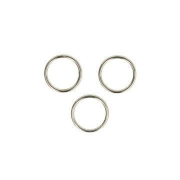 Opry Metalen Ring - 10 mm