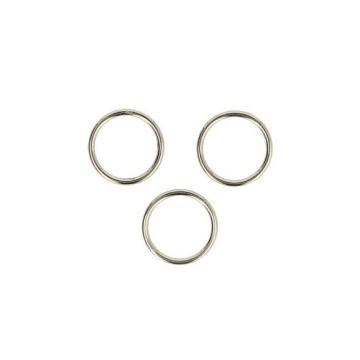 Opry Metalen Ring - 15 mm