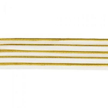 Paspelband Goud - 2mm