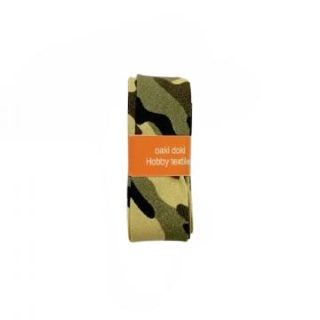 Oaki Doki Biaisband Summer Collection - Military Green - 2m