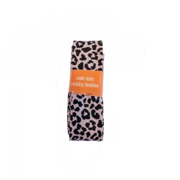 Oaki Doki Biaisband Summer Collection - Leopard Soft Old Pink - 2m
