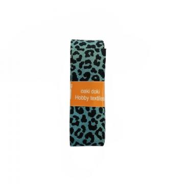 Oaki Doki Biaisband Summer Collection - Leopard Old Green - 2m