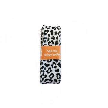 Oaki Doki Biaisband Summer Collection - Leopard White - 2m