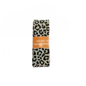 Oaki Doki Biaisband Summer Collection - Leopard Clay - 2m