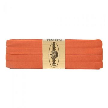 Tricot de luxe biaisband oaki doki 948 herfst oranje