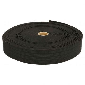 Stevig Elastiek Zwart - 40mm