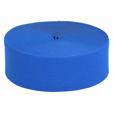 elastiek 60mm kobalt blauw