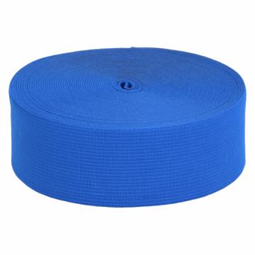 elastiek 60mm kobalt blauw