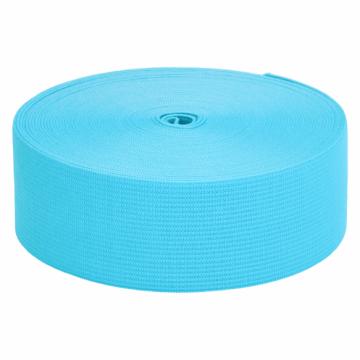 Elastiek Aqua Blauw - 30mm