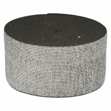 Elastiek Zilver/Zwart - 60mm