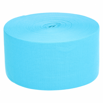 Elastiek Aqua Blauw - 60mm
