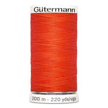 Gütermann 200 meter naaigaren - Fel Rood
