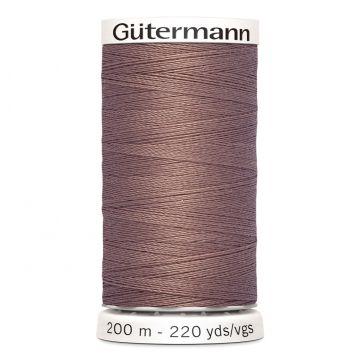 Gütermann 200 meter naaigaren - bleek bruin
