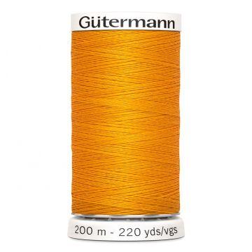 Gütermann 200 meter naaigaren - zacht oranje