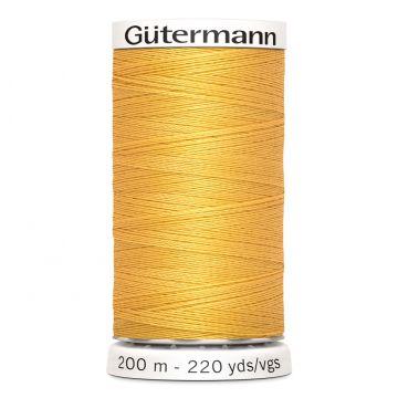 Gütermann 200 meter naaigaren - oker goud