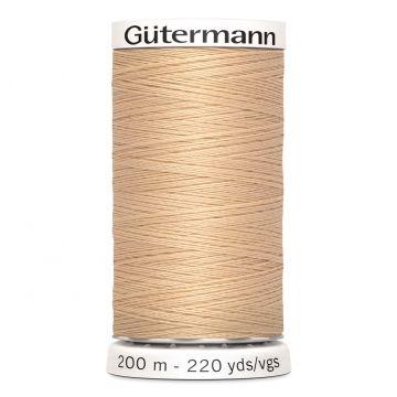 Gütermann 421 - Zacht Latte