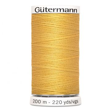 Gütermann 200 meter naaigaren - geel goud