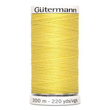 Gütermann 200 meter naaigaren - kanarie geel